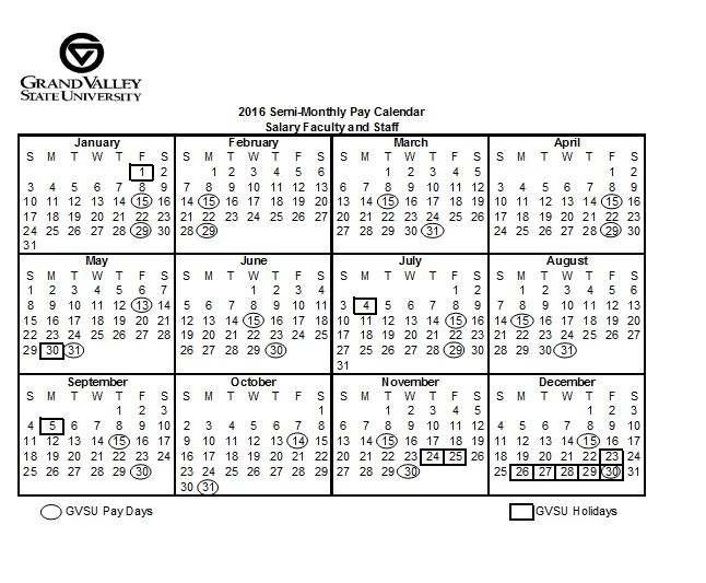 State Of Michigan Employees Calendar   Calendar Template 2018